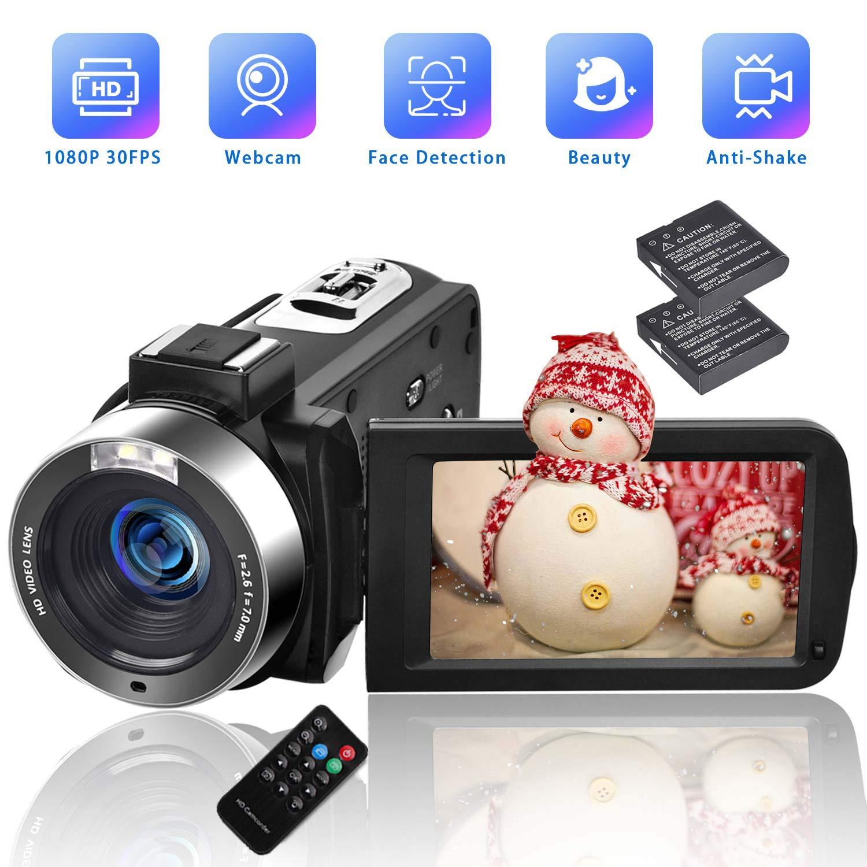 Camcorders Digital Vlogging Camcorder Batteries