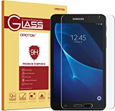 OMOTON Samsung Galaxy Tab A 7.0 (SM-T280 ONLY) Screen Protector, Tempered-Glass Protector with [9H Hardness] [Crystal Clear] [Scratch-Resistant] [Bubble Free]