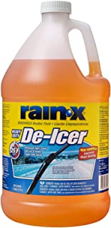 Rain-X Original 2-in-1 Windshield Washer Fluid, Removes Light Snow, Ice, Grime, Improves Driving Visibility - 25° F