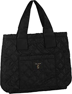 Quilted Tote Leather/Nylon Black M0013510-001