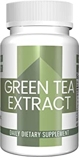 Green Tea Capsules (100 Capsules, 250 mg) by Pure Organic Ingredients, Dietary Supplement for Weight Loss*, Fast Metabolism*, Increased Energy*, Immune Boost*, Heart & Brain Health*