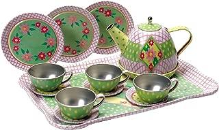 Schylling Children's Tin Tea Set
