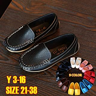 Professionally Made Soft and Comfortable Flat Shoes for Cute Babies&Boys&Girls Summer Shoes for Kids(Red,29)