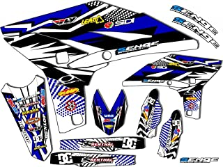 2008-2020 TTR 125, Mayhem Blue Base kit, Senge Graphics, Compatible with Yamaha