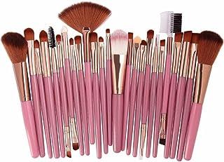 Binggong Make-upkwasten, premium kwastenset voor rouge, oogschaduw, gezichtspoeder, 25-delige set