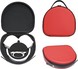 Upgrade etui podróżne na nowe Apple AirPods Max, modna torba do przenoszenia do AirPods Max i akcesoria (czerwona)