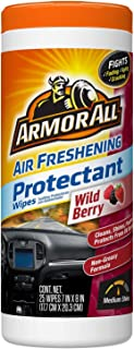 Armor All 78535 Wild Berry Air Freshening Protectant Wipes 25 ct, 25 Pack