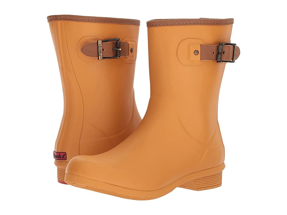 Chooka City Solid Mid Boot (Saffron) Women