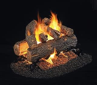 RealFyre Golden Oak Designer Plus Vented Gas Logs (RDP-2-16), See-Thru, 16-Inch