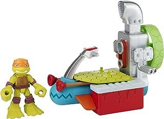 Teenage Mutant Ninja Turtles Pre-Cool Half Shell Heroes Sewer Cruiser with Michelangelo Vehicle and Figure