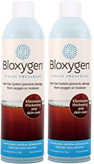 Bloxygen Preserver. Spray, Seal, and Store. 2 can pack