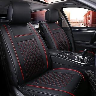 Autositzbezüge Vordersitz Leder wasserdicht Limousine SUV Pickup für CC FOX Golf Jetta Lupo Rapid Hilux