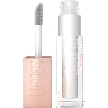 Maybelline New York Maybelline Lifter Gloss Lip Gloss Makeup With Hyaluronic Acid, Hydrating, High Shine, Hydrated Lips, Fuller-Looking Lips, 001 PEARL, 0.18 Fl Oz