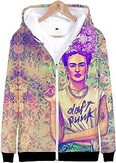 Kewing T-Shirt a Maniche Lunghe con Cappuccio a Manica Lunga con Scollo a O da Donna Felpa con Cappuccio a Maniche Lunghe ...