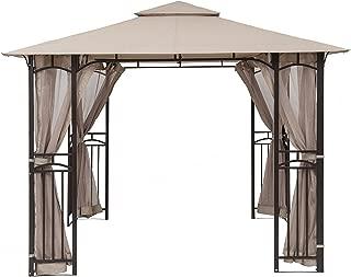 MasterCanopy Gazebo Mosquito Netting Screen Walls for 10'x 10',10'x 12' Gazebo Canopy(Only Screen Walls)