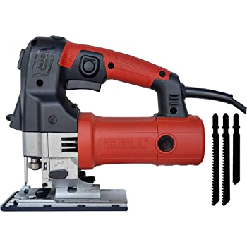 IBELL Professional JIG Saw with LED, 700W, Carrying Case, 3 Blades, 84 Inches Cord