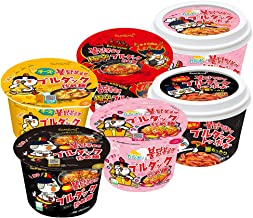 【公式 ブルダック炒め麺】味くらべ6食バラエティセット(トッポギ2種+ビッグカップ4食セット)