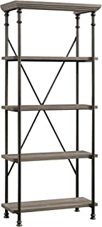 Sauder Canal Street 5-Shelf Bookcase, L: 29.53