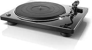 DENON レコードプレーヤー ブラック DP-400-BKEM
