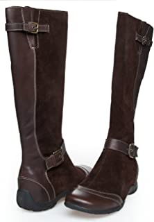 bae37cbc3ea88a Scholl Islington f23113 1019 Chaussures Bottes pour femme Marron Daim Cuir