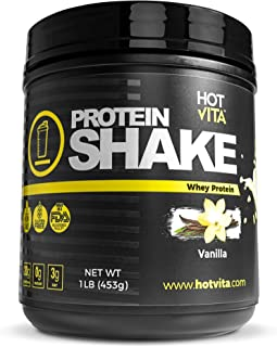 Hot Vita Meal Replacement Protein Shakes for Women - Gluten Free, Non-GMO, Meal Replacement Protein Powder for Weight Loss (Vanilla)