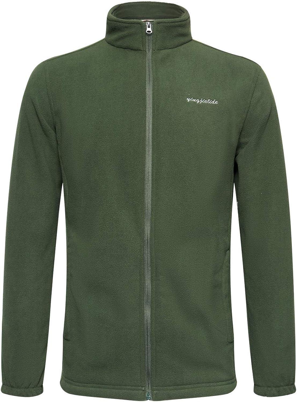 YINGJIELIDE Men's Ultra-Cheap Deals Fleece Jacket Full Zip Polar-Fleece Coat 2021new shipping free shipping Soft