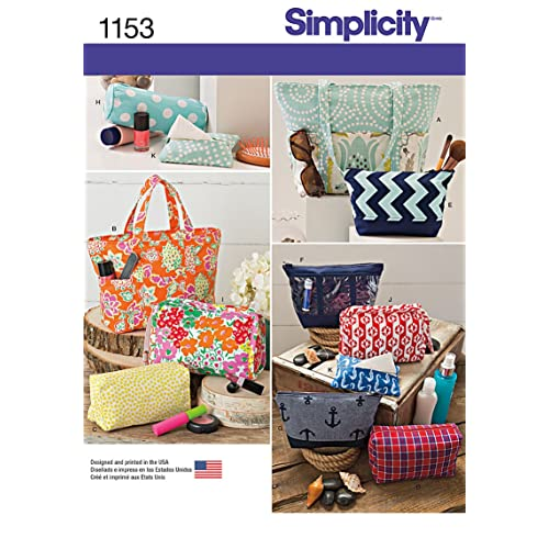 Simplicity Elaine Heigl Designs Pattern 4391 Purse and Accessories Multiple Styles