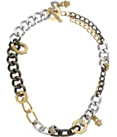 Versace - Mixed Metal Link Necklace