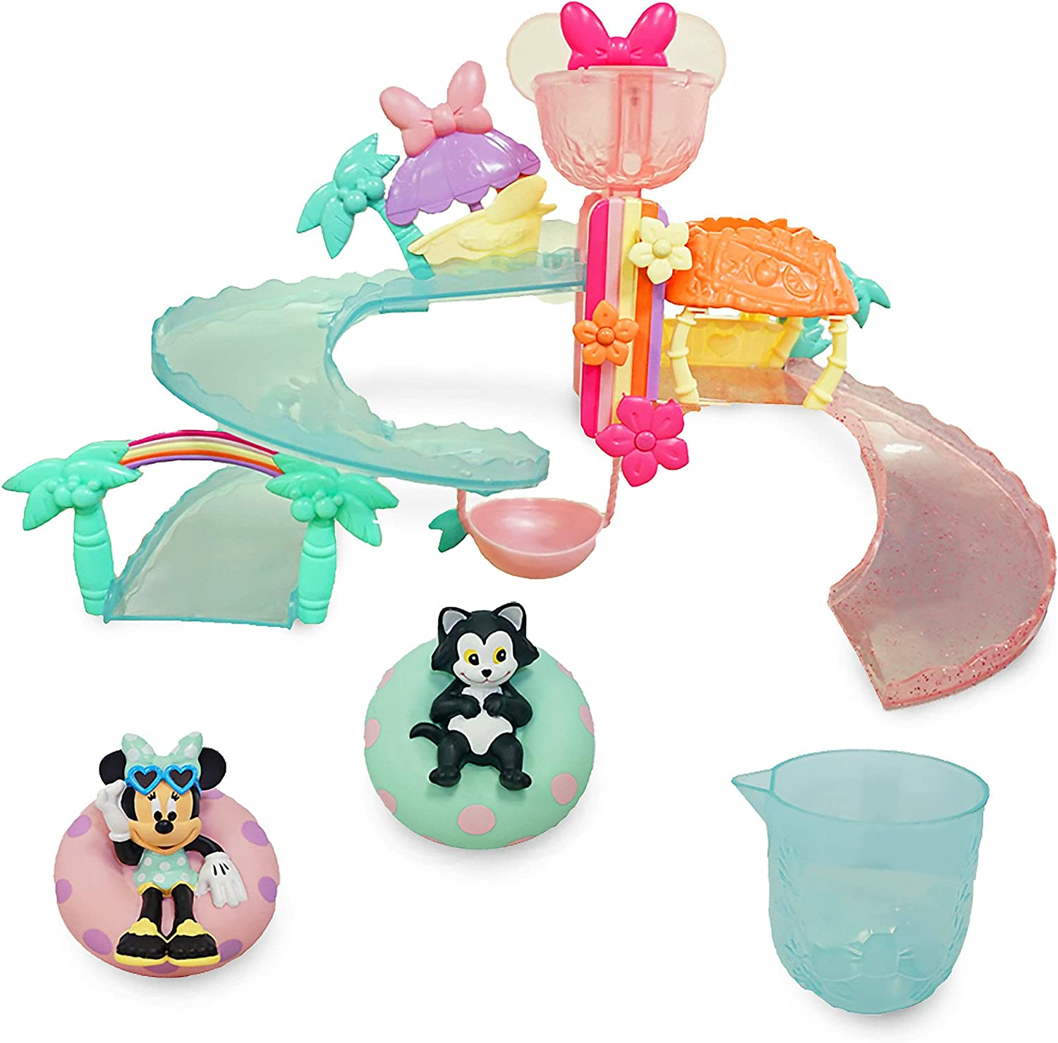 Disney Minnie Mouse Water Park Seattle Mall Set Bath Weekly update Play