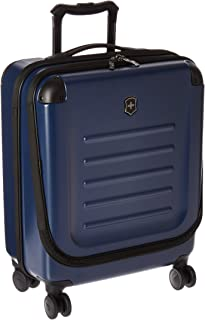 Victorinox Spectra 2.0 Extra Capacity Dual-Access Carry-On Hardside Spinner Suitcase, 21-Inch, Navy