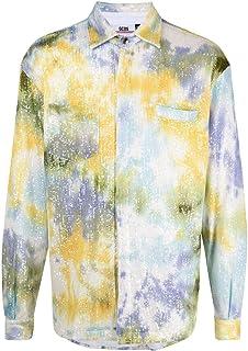 GCDS Luxury Fashion Uomo SS21M040111MIX Multicolor Altri Materiali Giacca | Ss21