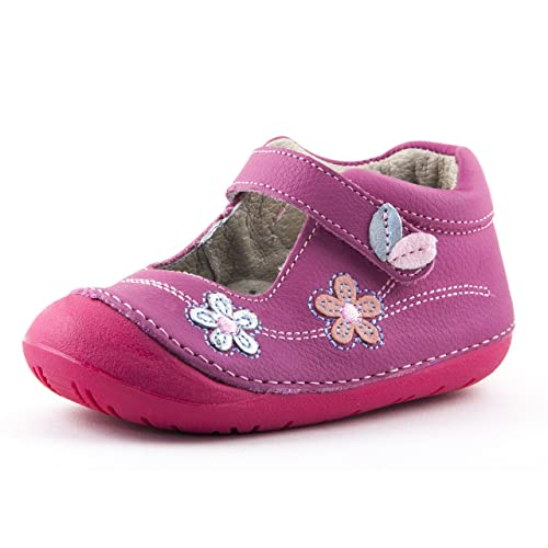 b1862794f6 Wobbly Waddlers Natura Poppy Baby Toddler Girl Leather Shoes Arch Support  Blue