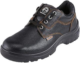 ACME Atom Men's Leather Safety Shoes Black