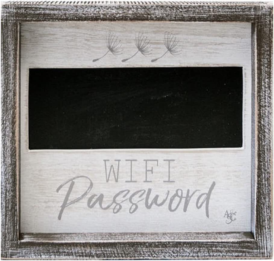 Adam's Limited Special Price Company Cheap super special price 17010 Wood Framed with WiFi Chalkboard Sign Pas