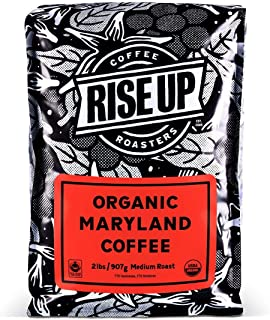 Organic Maryland, Certified Fair Trade Organic Coffee, 2 Pound, Whole Bean (Organic Maryland)