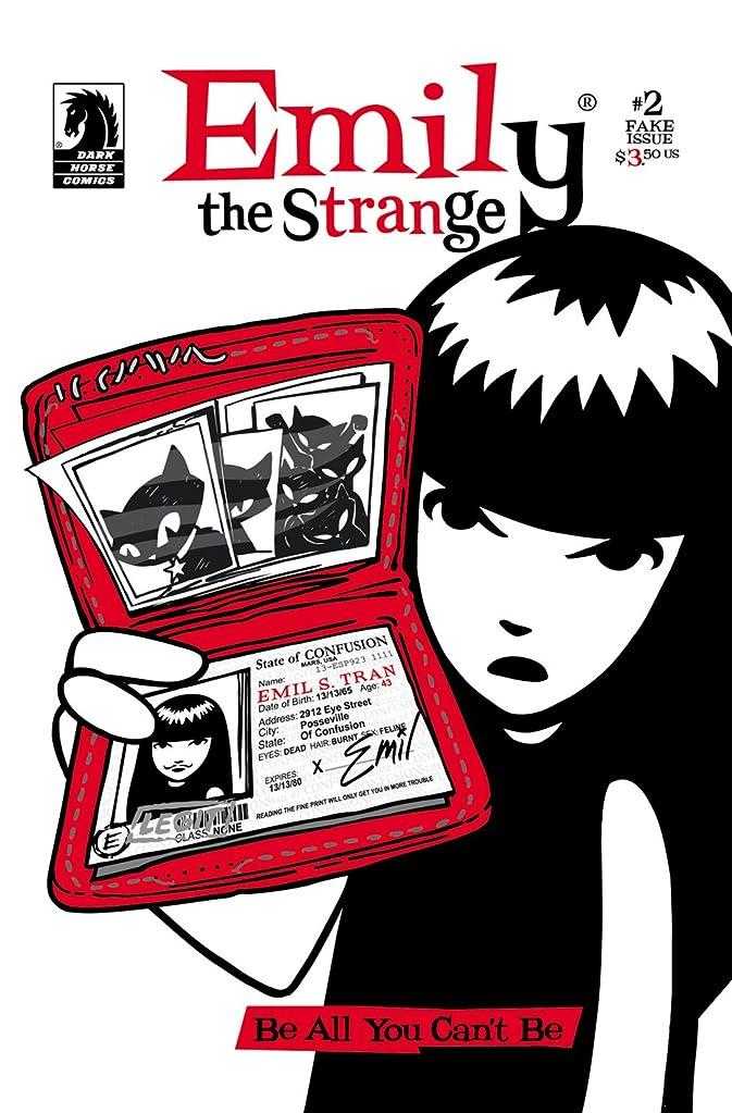 方言詩致命的Emily the Strange #2: The Fake Issue (English Edition)