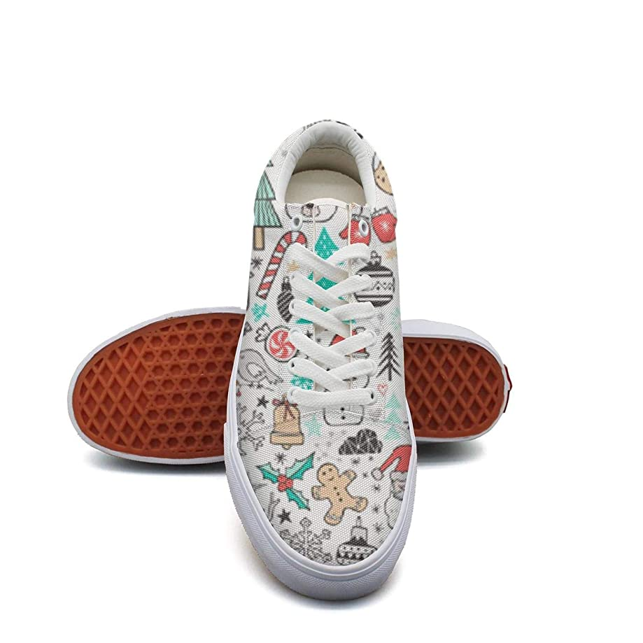 Girls Decorative Sunflowers with Bees Canvas Shoes Retro Skateboarding Lace-up Shoes for Women