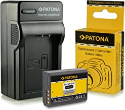 PATONA 4en1 Cargador + Bateria LP-E10 compatible con Canon EOS 1100D 1200D 1300D Rebel T3 T5 T6 Kiss X50 X70 X80