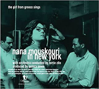 Nana Mouskouri In New York - The Girl From Greece Sings (Limited edition LP)