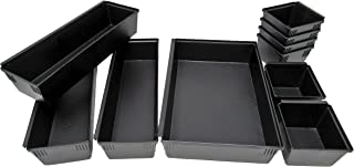 Dial Industries B689K Drawer Organizer Tray Set, Black