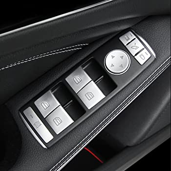 14/ABS Chrome Porte int/érieure fen/être commutateur garnitures de Coque 5/pcs Classe C W204/10 14/Classe B 12 15/A Classe 13