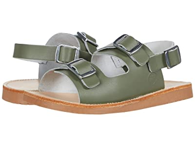 Freshly Picked Delray Sandal (Infant/Toddler/Little Kid) (Olive) Kid