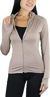 ToBeInStyle Women's Long Sleeve Full Zip-Up Track Jacket