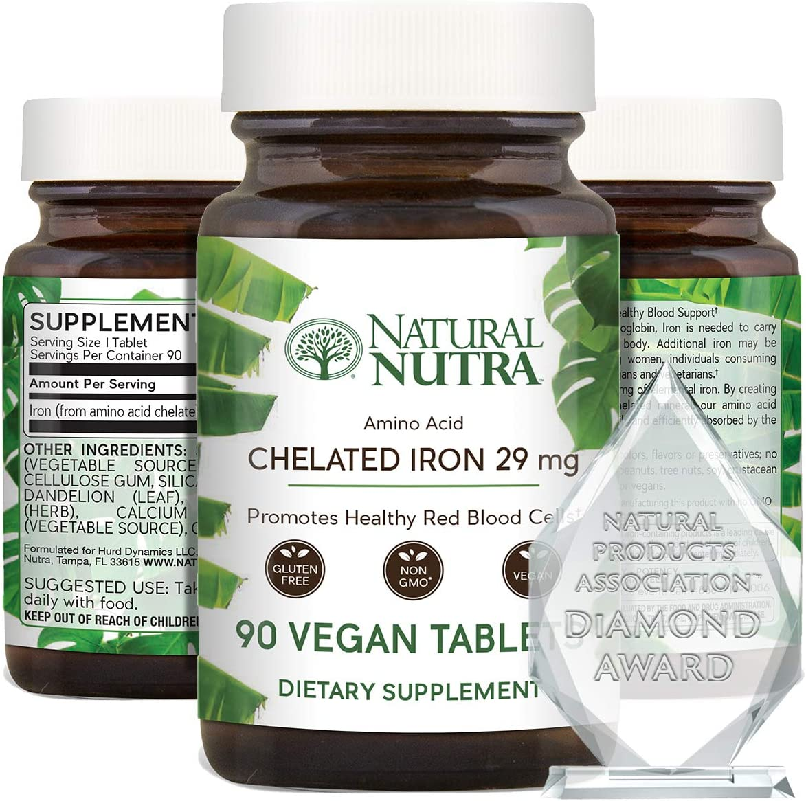 Natural Nutra Selling and selling Chelated Iron Supplement Men Women and for Helps Jacksonville Mall