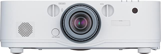 NEC NP-PA622U-13ZL LCD Projector - 1080p - HDTV - F/1.7 - 2.37 - AC - 350 W - SECAM, NTSC, PAL - 3000 Hour - 4000 Hour - 1920 x 1200 - WUXGA - 6,000:1 - 6200 lm - DisplayPort - HDMI - USB - VGA In - Ethernet - 460 W - White Color - 3 Year Warranty - NP-PA622U-13ZL
