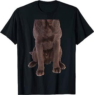 Brown Labrador Retriever Chocolate Lab Funny Dog Costume T-Shirt