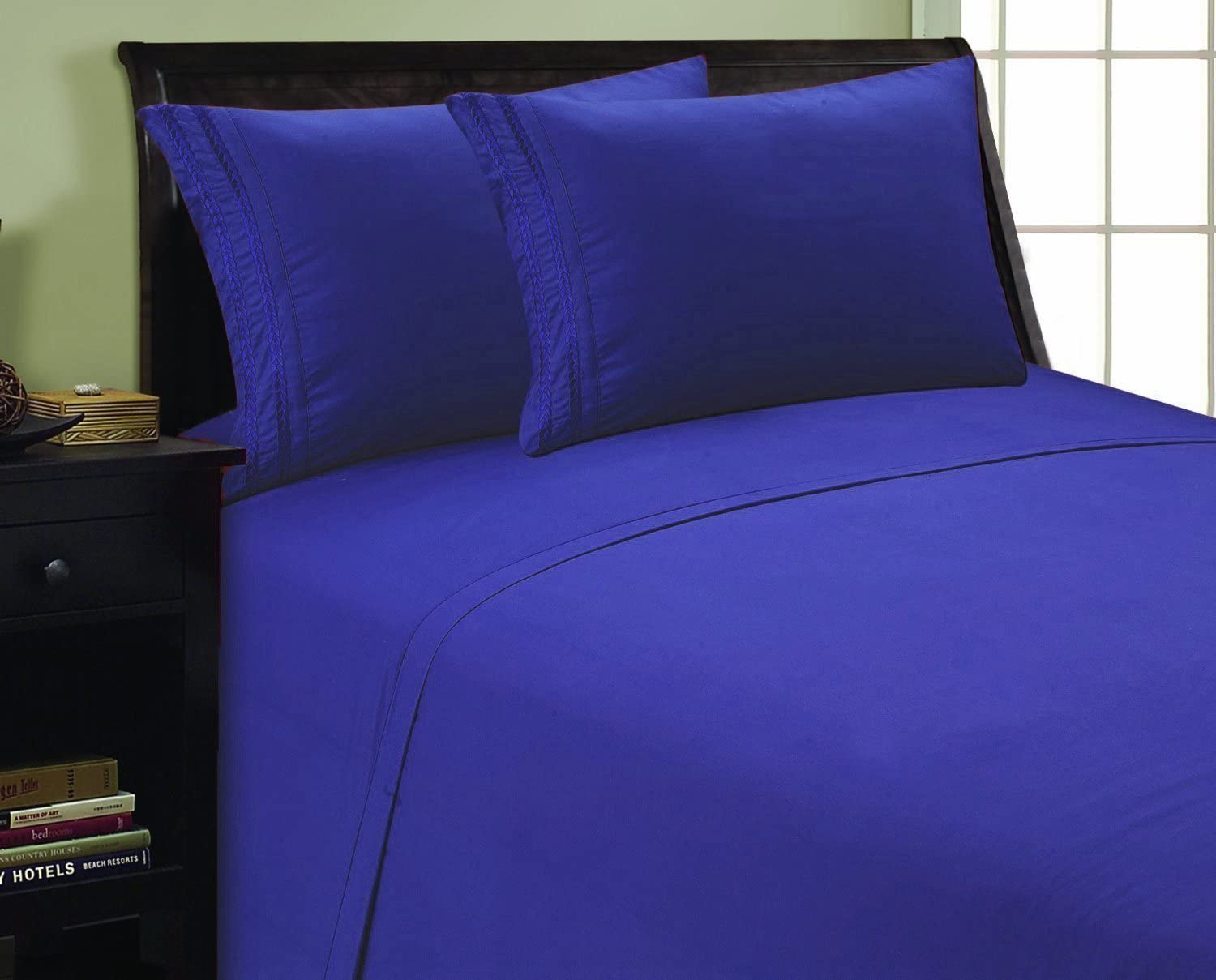 Elegant Comfort 1500 Milwaukee Mall Thread Count Quality All items in the store Egyptian Chain Design