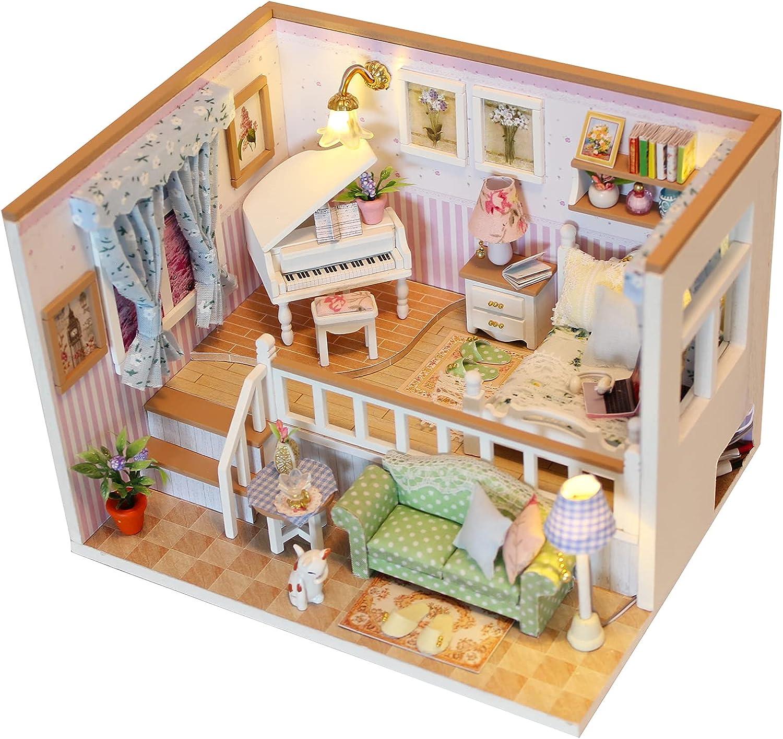 KavRave Miniature Dollhouse Genuine Kits DIY trend rank Kit Plu
