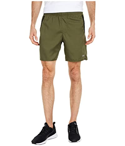 RVCA Yogger IV Shorts (Olive) Men