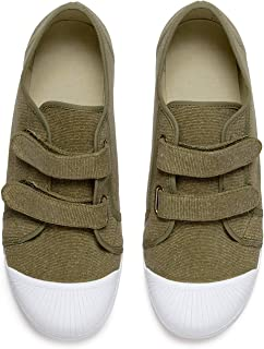 Childrenchic Unisex Hook and Loop Sneakers - Shoes for Boys and Girls (Toddler, Little Kid, Big Kid)